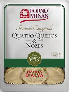 Ravioli Quatro Queijos & Nozes