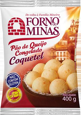 Pão de Queijo Coquetel 400g