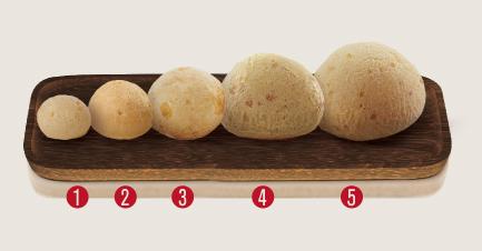 5. Pão de Queijo Big Lanche – 90g